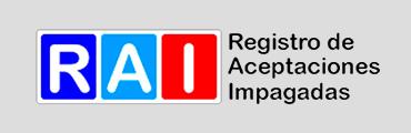 RAI Registro de aceptaciones Impagadas